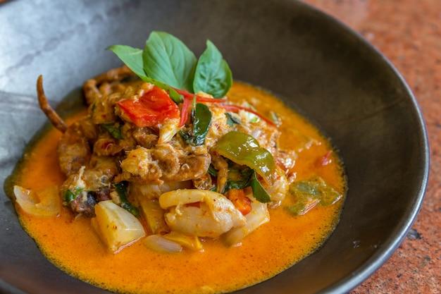 Curry weiche krabbe