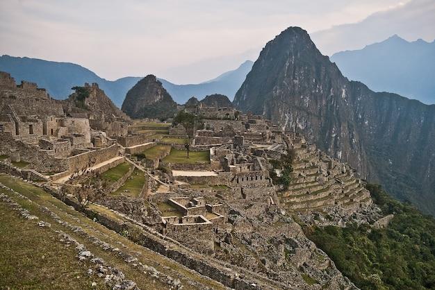 Cuzco peru machu picchu denkmal wandern