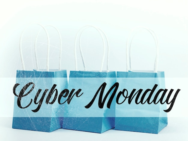 Cyber monday-konzept