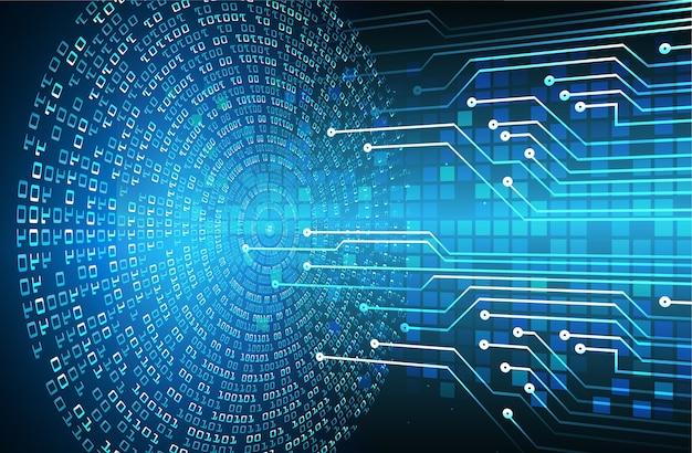 Cyber-schaltung zukunftstechnologie konzept hintergrund daten informationen datenschutz idee abstrakt hallo geschwindigkeit