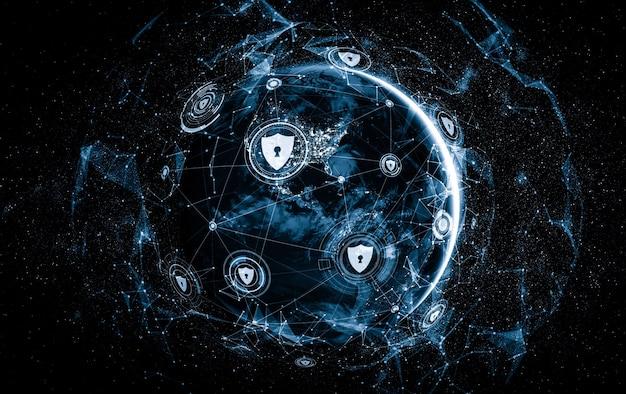 Cyber-sicherheitstechnologie und online-datenschutz in innovativer wahrnehmung