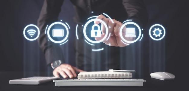 Cybersicherheit, datenschutz