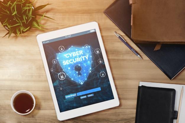 Cybersicherheit und schutz digitaler daten