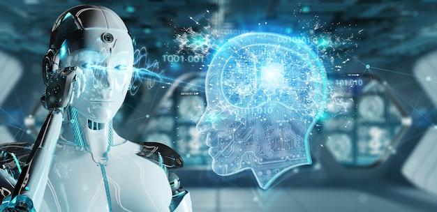 Cyborg schafft künstliche intelligenz