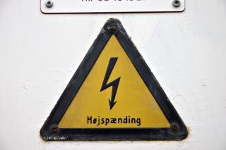 Dänische hochspannung zeichen