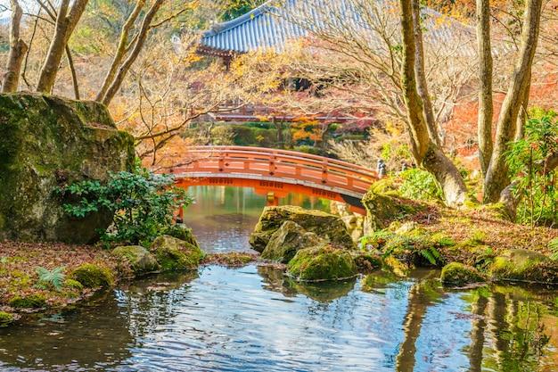 Daigo-ji tempel im herbst, kyoto, japan