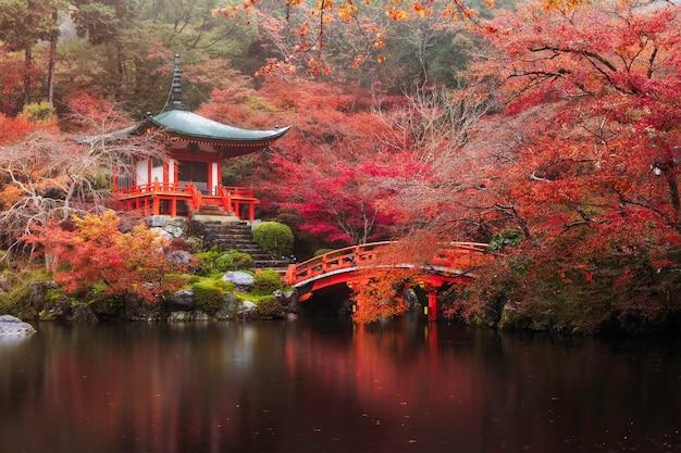 Daigo-ji tempel im herbst