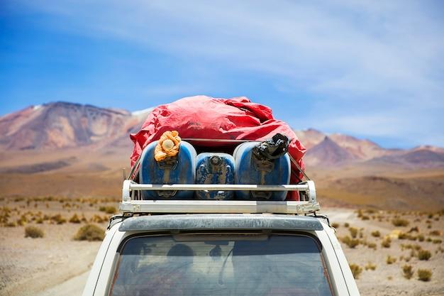 Dali-wüste in bolivien