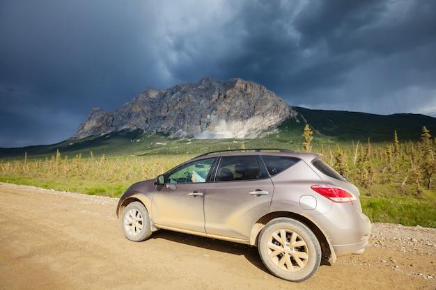 Dalton highway in alaska Premium Fotos