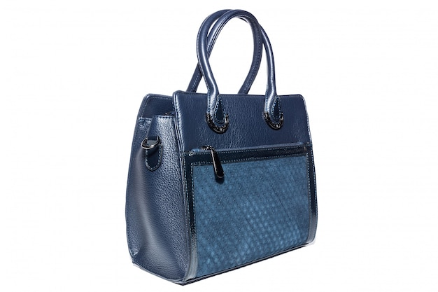Damenhandtasche in blau