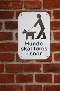 Danish keine hunde zeichen