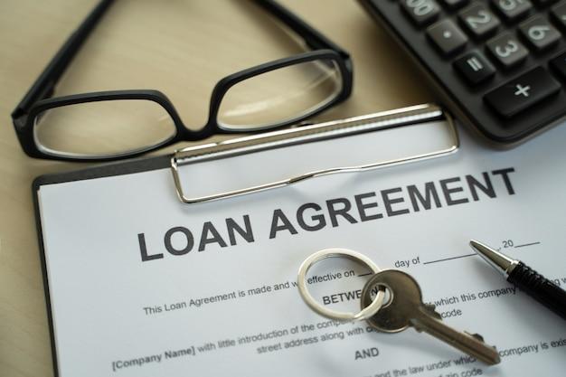 Darlehen geschäft und finanzen geschäftsdarlehensvertrag immobilien, wohnungsbaudarlehen und investitionen