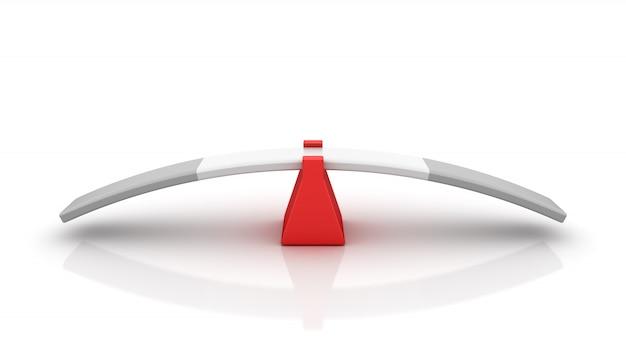 Darstellung der leeren wippe rendern