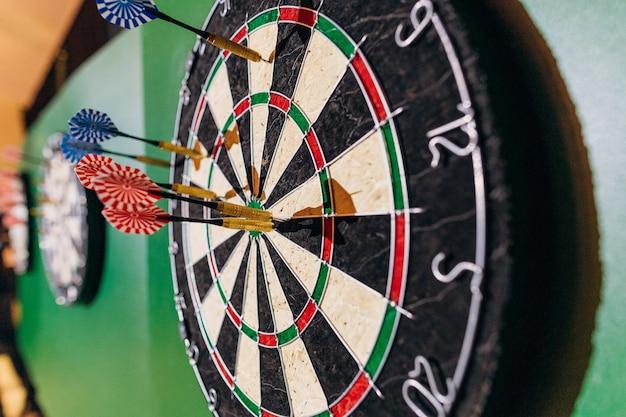 Dartboard spiel ziel unterhaltung perfekt genau bullseye