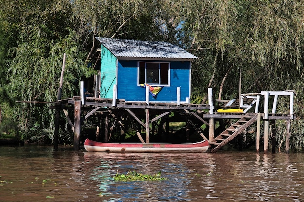 Das delta des tigre-flusses, buenos aires, argentinien