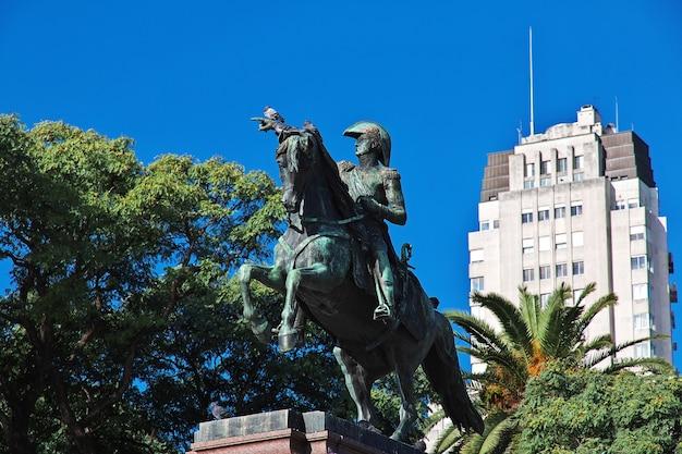 Das denkmal in buenos aires, argentinien