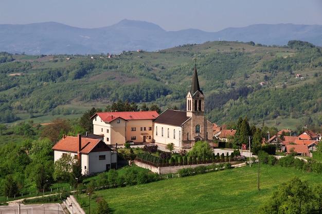Das dorf in bosnien und herzegowina