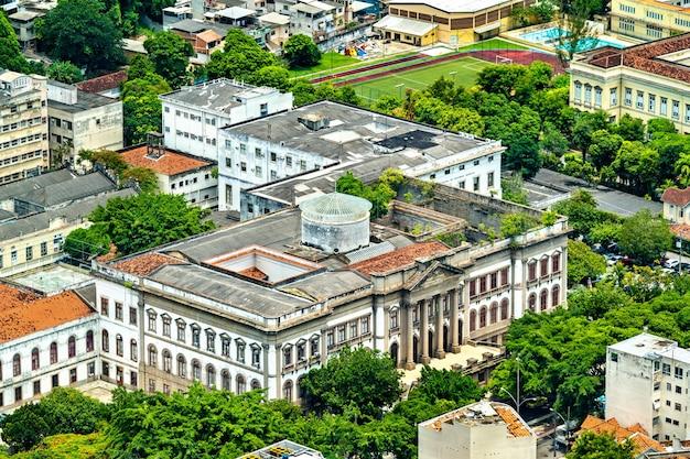 Das geowissenschaftliche museum in urca, rio de janeiro