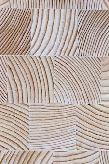 Das geschnittene holz mit der textur und den wachstumsringen