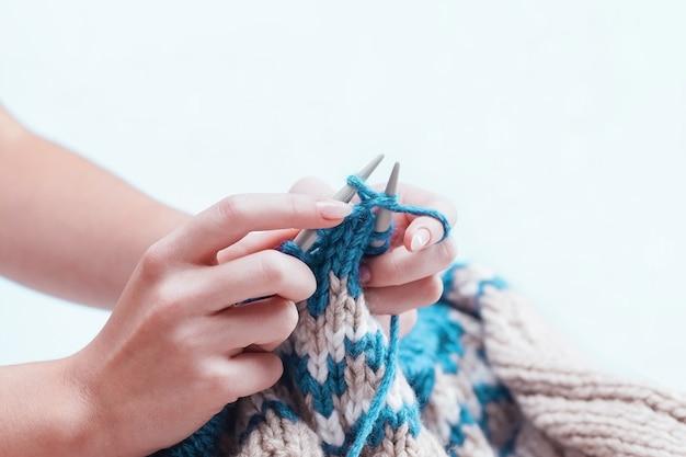 Das hobbykonzept - stricken