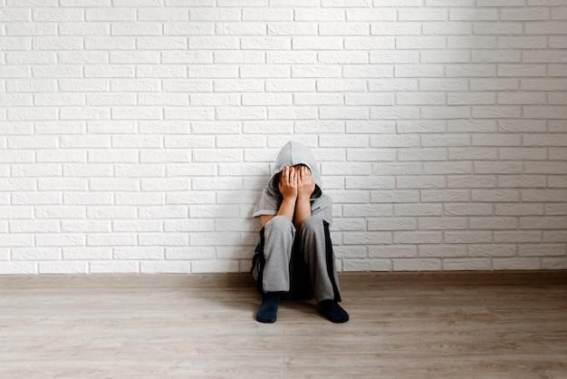 Das kind in einer depression