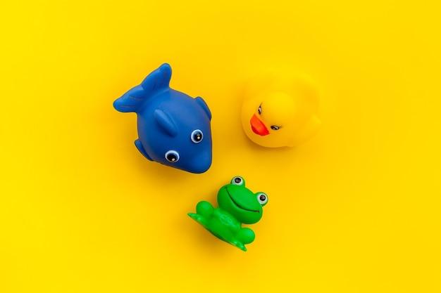 Das konzept der kinder badespielzeug