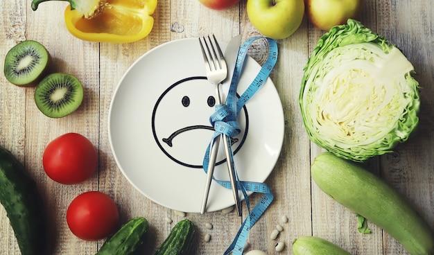 Das konzept der richtigen ernährung