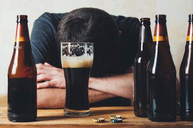 Das konzept des alkoholismus
