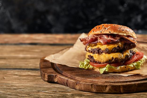 Das konzept des amerikanischen fast food