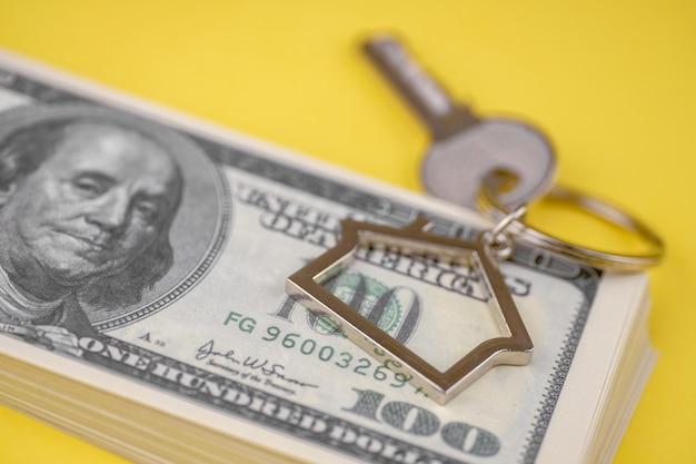Das konzept des kaufs eines privathauses oder einer wohnung