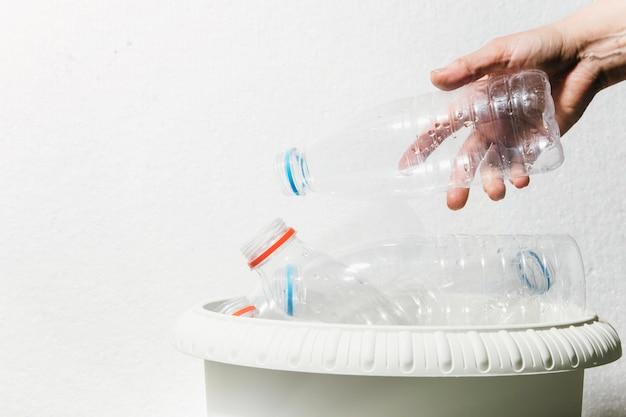 Das konzept des kunststoffrecyclings