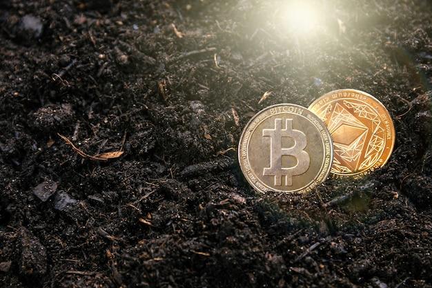 Das mining von ethereum und bitcoin der kryptowährung führt dazu, dass sie tiefer in die welt eintauchen.