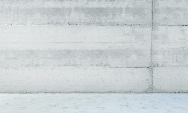 Das moderne loft-innendesign von wohn- und wohnzimmer sowie betonwand