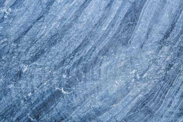 Das muster und die oberfläche der blauen weißen und schwarzen marmorwände für den hintergrund.