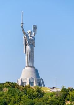 Das mutterland-denkmal in kiew