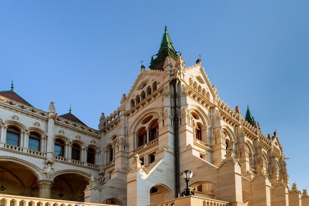 Das nationale alte parlament in budapest ungarisch