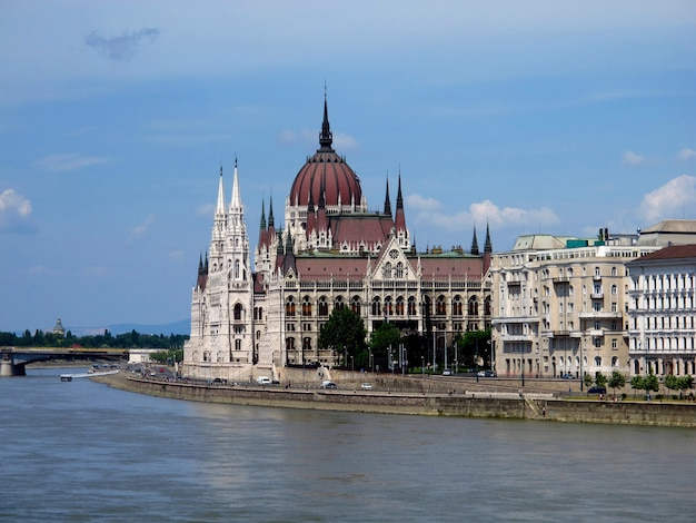 Das parlament in budapest, ungarn