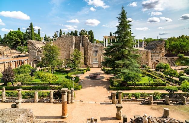 Das römische theater von merida in spanien