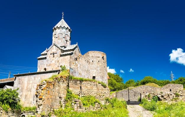 Das tatev-kloster, ein armenisch-apostolisches kloster aus dem 9. jahrhundert in der provinz syunik im südosten armeniens