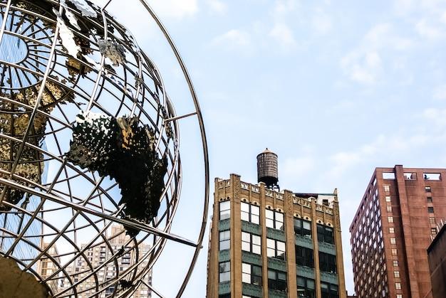 Das trump international hotel und tower befindet sich in columbus circle