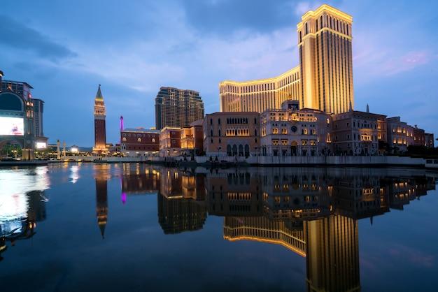 Das venezianische macao casino und hotel in macao (macao), china