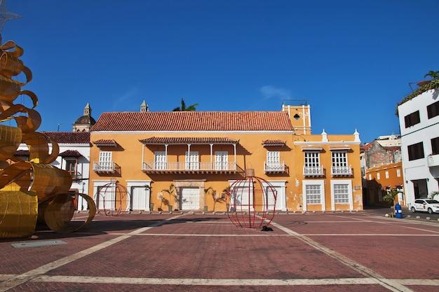 Das vintage-haus in cartagena, kolumbien, südamerika