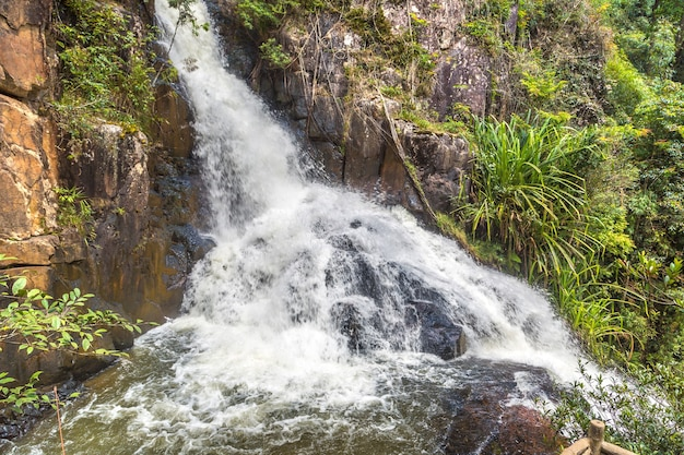 Datanla-wasserfall in dalat, vietnam