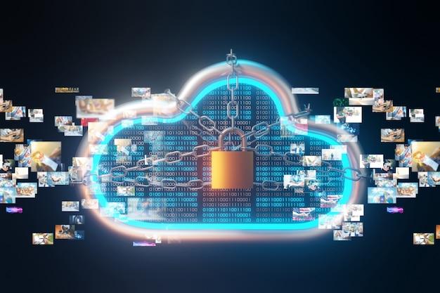 Daten auf cloud-server übertragen