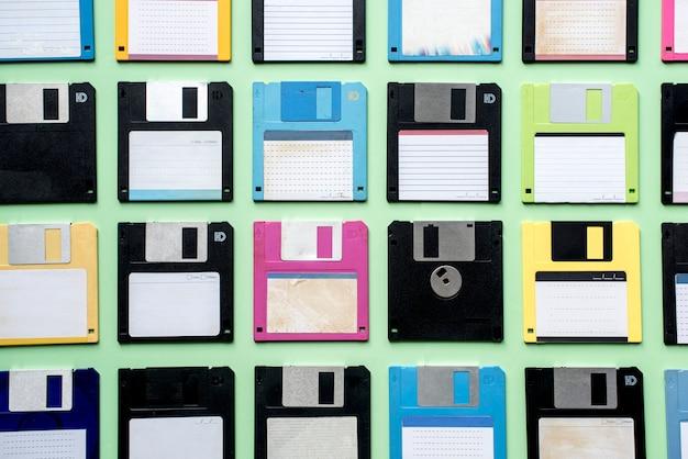 Datenspeicher des alten diskettenlaufwerks