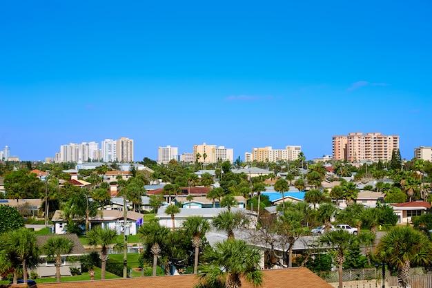 Daytona beach in florida-antenne in port orange