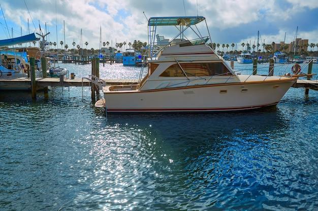 Daytona beach in florida-jachthafenbooten usa