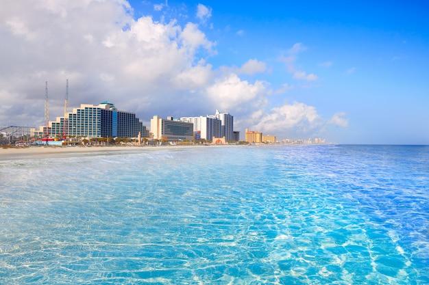 Daytona beach in florida-küstenlinie usa