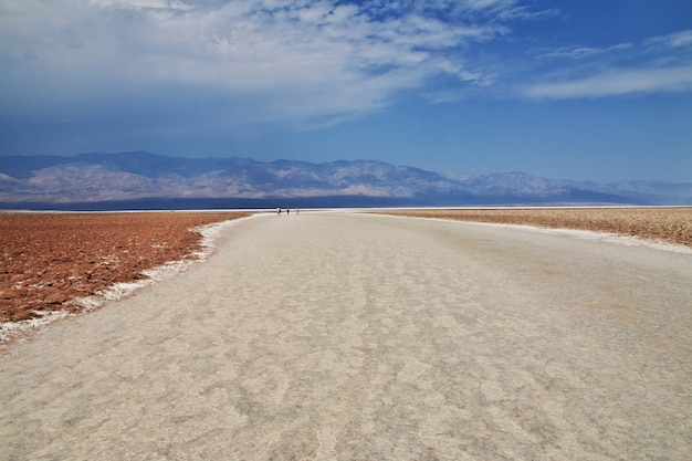 Death valley in kalifornien, usa
