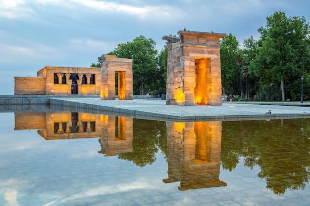 Debod tempel madrid